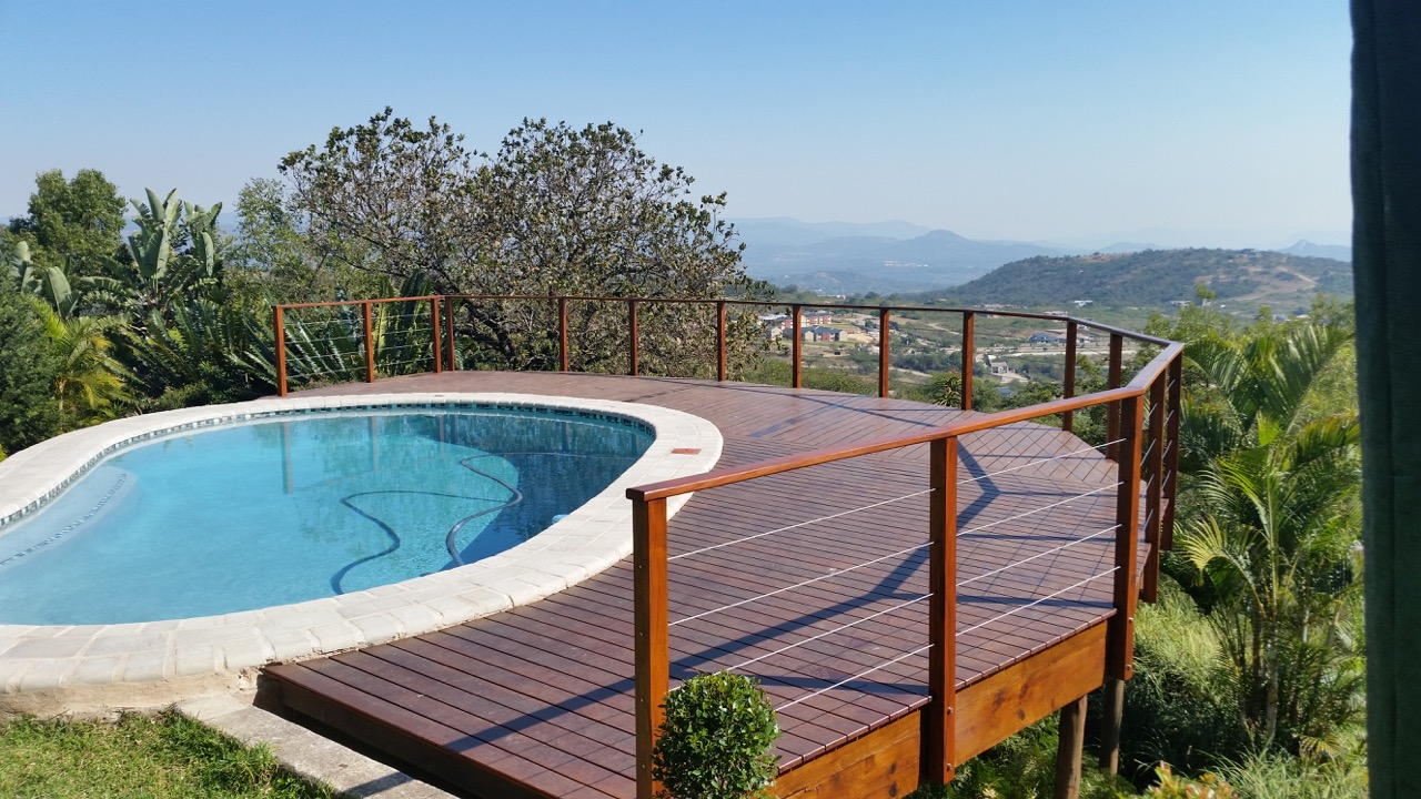 Nelspruit Wooden Decking